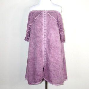 Young Fabulous & Broke Off-Shoulder Peasant Dress